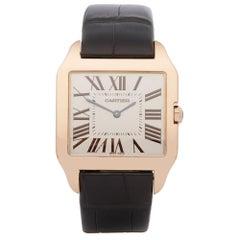 Cartier Santos Dumont 18 Karat Rose Gold 2650