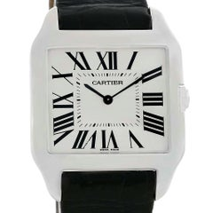 Cartier Santos Dumont Men's 18 Karat White Gold Manual Watch W2007051