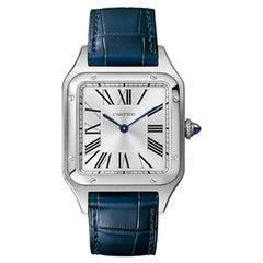Cartier Santos-Dumont Quartz Movement Large Model Steel Men's Watch WSSA0022