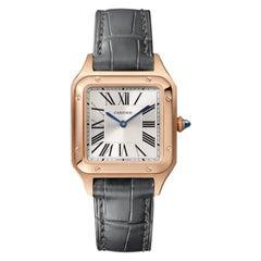 Cartier Santos-Dumont Quartz Movement Small Model Pink Gold Watch WGSA0022