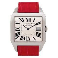 Cartier Santos Dumont W2007051, Silver Dial, Certified and Warranty