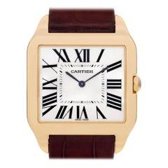 Cartier Santos Dumont W2008751, Beige Dial, Certified and Warranty