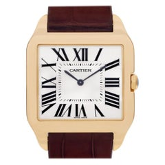 Cartier Santos Dumont W2008751, White Dial, Certified and Warranty
