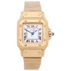 Cartier Santos Galbee 0 866930 Ladies Yellow Gold Automatique Watch