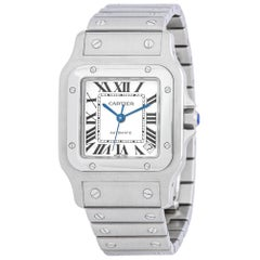 Cartier Santos Galbee 2823, Certified and Warranty