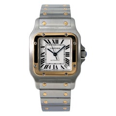 Cartier Santos Galbee 2823/W20099C4, White Dial, Certified and Warranty