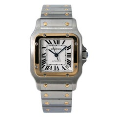 Cartier Santos Galbee 2823/W20099C4; White Dial, Certified
