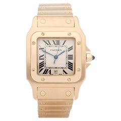 Cartier Santos Galbee 887901 Unisex Yellow Gold Watch