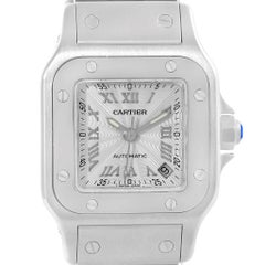Cartier Santos Galbee Ladies Stainless Steel Automatic Watch W20044D6
