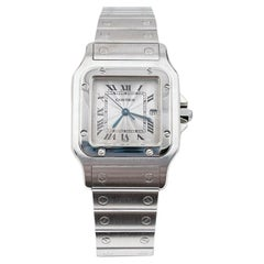 Cartier Santos Galbee Ref 2319 Stainless Steel Watch Box Papers