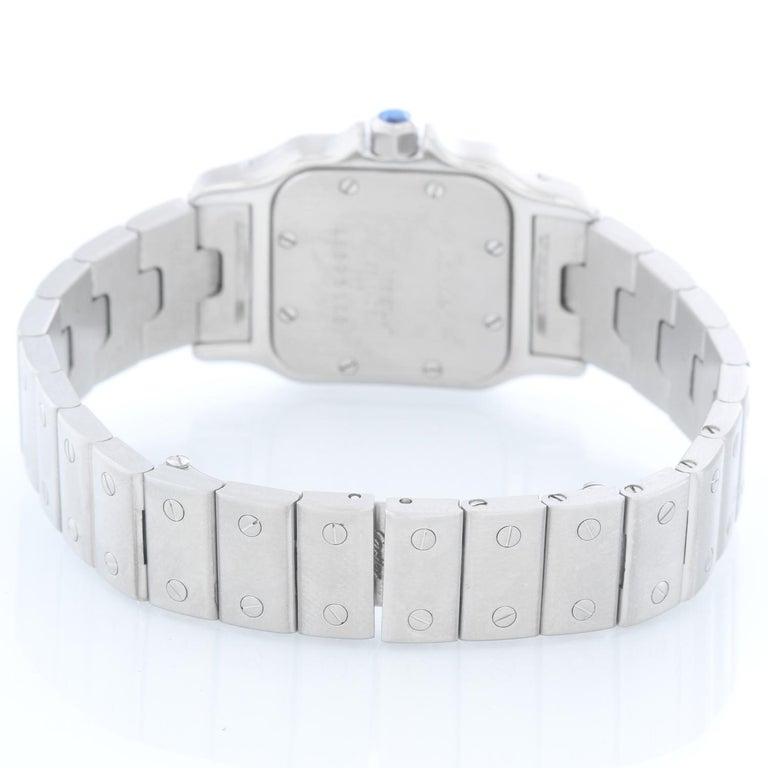 Cartier Santos Galbee Small Ladies Watch 1565 In Excellent Condition For Sale In Dallas, TX