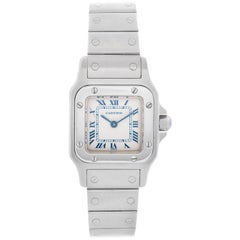 Cartier Santos Galbee Small Ladies Watch 1565