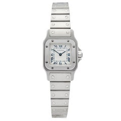 Cartier Santos Galbee Stainless Steel Women's 1565 or W20056D6