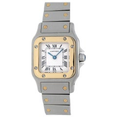 Cartier Santos Galbee Two-Tone Watch 1567