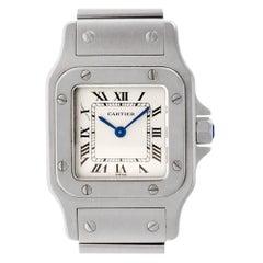 Cartier Santos Galbee W20056D6, Beige Dial, Certified and Warranty