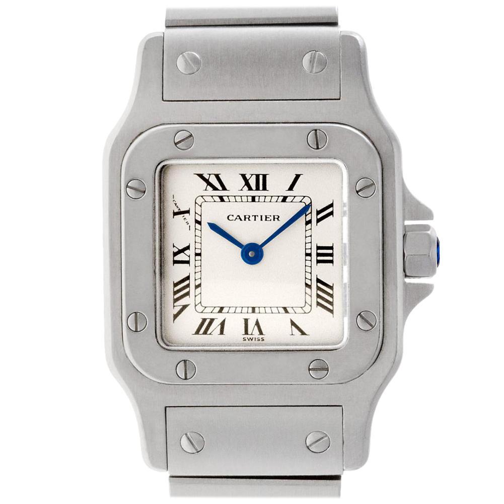 Cartier Santos Galbee W20056D6, Certified and Warranty