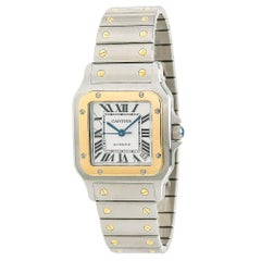 Cartier Santos Galbee W20099C4; Blue Dial, Certified and Warranty