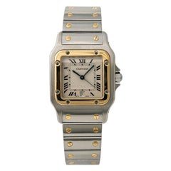 Cartier Santos Galbee2640, Dial Certified Authentic