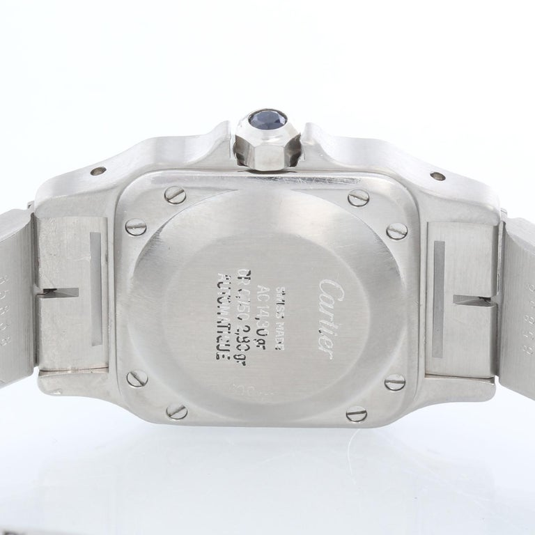 Women's Cartier Santos Ladies Steel & Gold 2-Tone Quartz Watch 16336