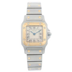 Cartier Santos Ladies Steel and Gold 2-Tone Quartz Watch