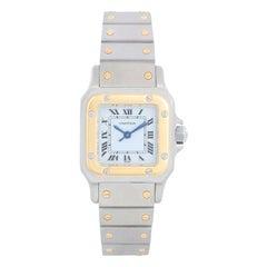 Cartier Santos Ladies Steel & Gold 2-Tone Quartz Watch 16336