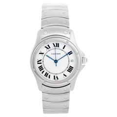 Cartier Santos Men's/Ladies Midsize Stainless Steel Automatic Watch