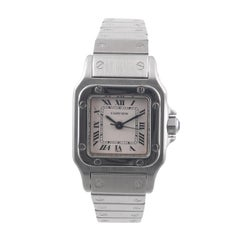 Cartier Santos Mid-Size Stainless Steel Automatic Bracelet Watch