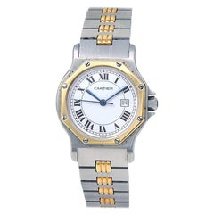 Cartier Santos Octagon MISSING, Case, Certified and Warranty