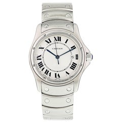 Cartier Santos Ronde 1561 Ladies Watch Box and Papers