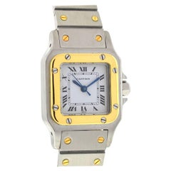 Cartier Santos Two-Tone Automatic Ladies Watch