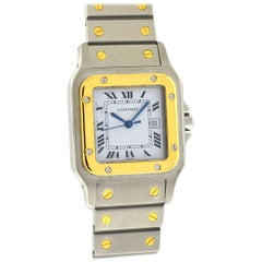 Cartier Santos Two-Tone Automatic Men's Watch