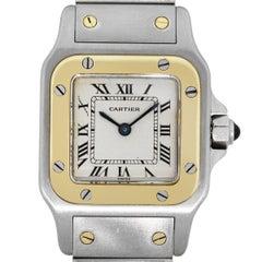 Cartier Santos Two-Tone Ladies Watch