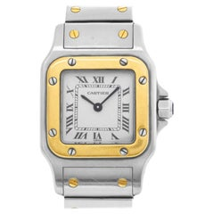 Cartier Santos W20012C4, White Dial, Certified and Warranty