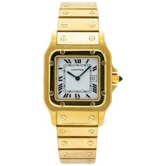 Cartier Santos WGSA0007, White Dial, Certified and Warranty