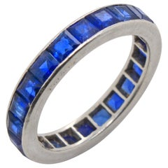 Cartier Sapphire Eternity Ring