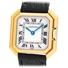 Cartier Sextavado 78099 18 Karat Manual Watch