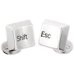 Cartier Shift Escape Keyboard Cufflinks
