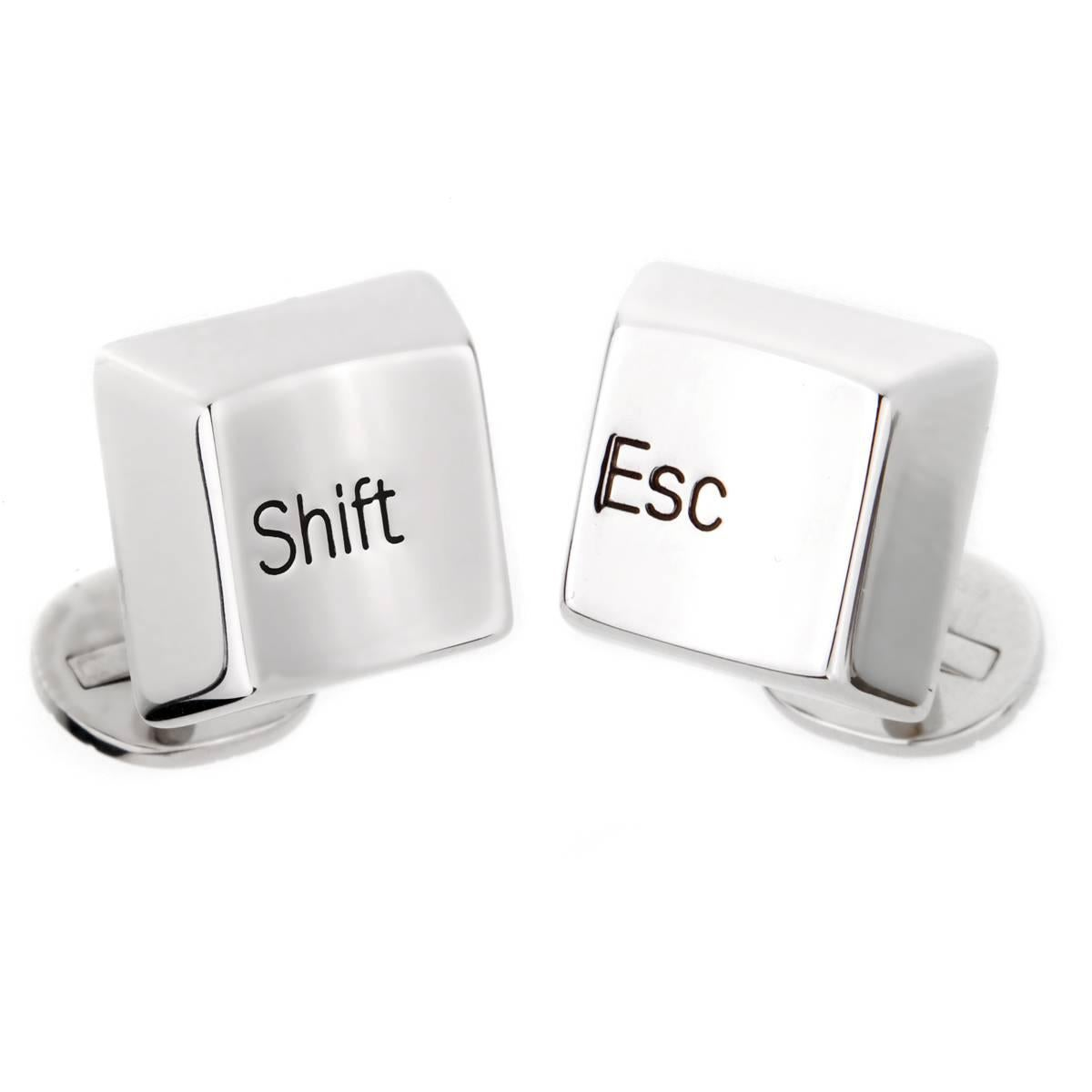 Cartier Shift Escape Keyboard Cufflinks