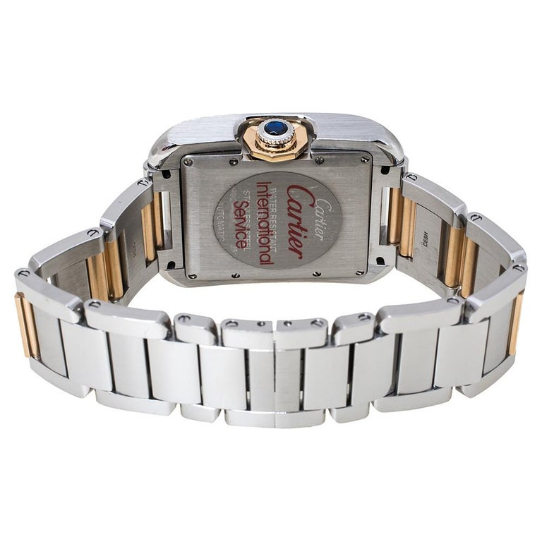 Cartier's Tank watches were inspired by the military tanks used by English troops during World War I, flaunting distinct caterpillar tracks of the army tank into the bracelet design. The watch collection was an instant hit as it was considered the