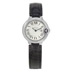 Cartier Silver Ballon Bleu W69018z4 Watch