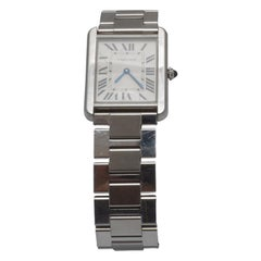 Cartier Silver Tank Solo Watch