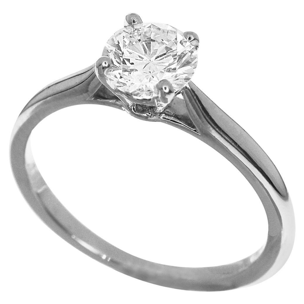 Cartier Solitaire 0.66 Carat GIA Diamond Platinum 1895 Ring