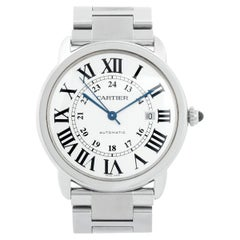Cartier Solo Ronde Men's Stainless Steel Watch 3517