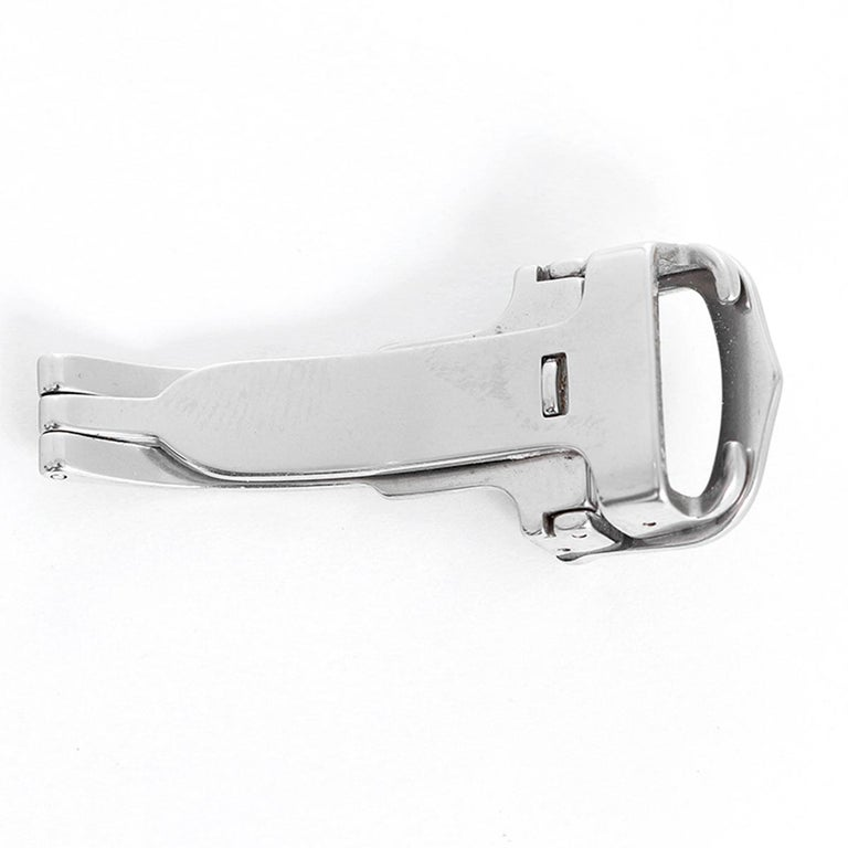 Cartier Stainless Steel Deployant Clasp/Buckle 13mm -  Stainless steel genuine Cartier 13mm deployant clasp/buckle.
