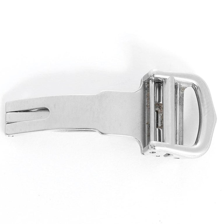 Women's or Men's Cartier Stainless Steel Deployant Clasp/Buckle For Sale