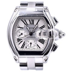 Cartier Stainless Steel Roadster Chronograph