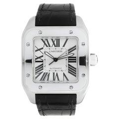 Cartier Stainless Steel Santos 100