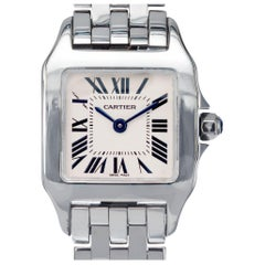 Cartier Stainless Steel Santos Demoiselle Small Wristwatch