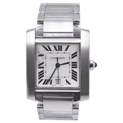 Cartier Stainless Steel Tank Watch Ref. 2302