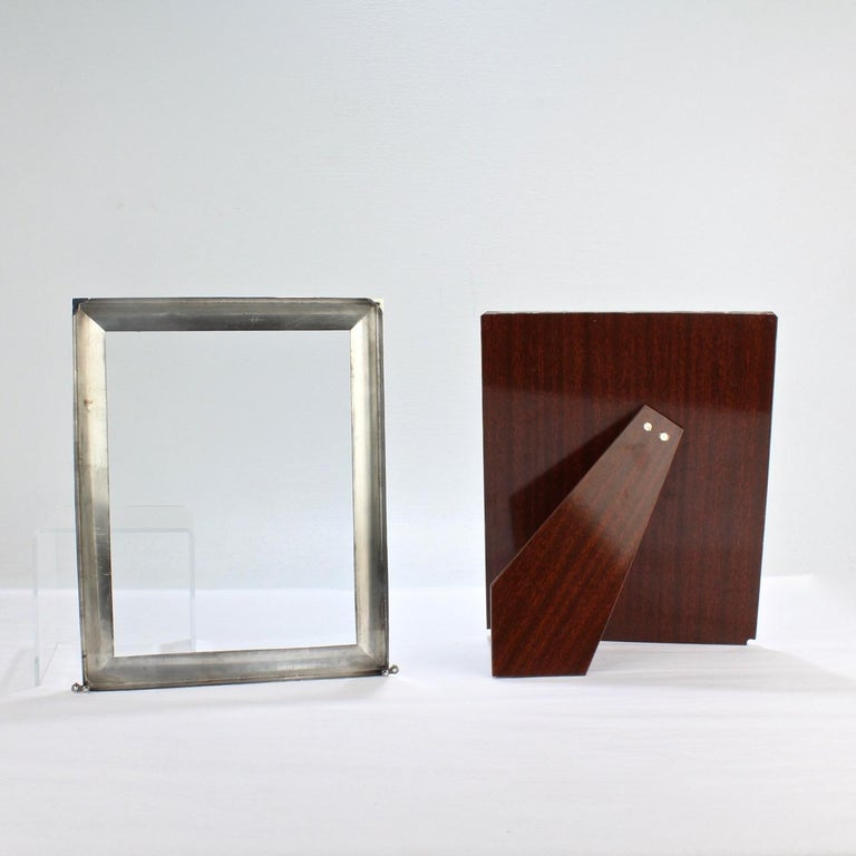 Cartier Sterling Silver Picture or Photo Frame For Sale 5